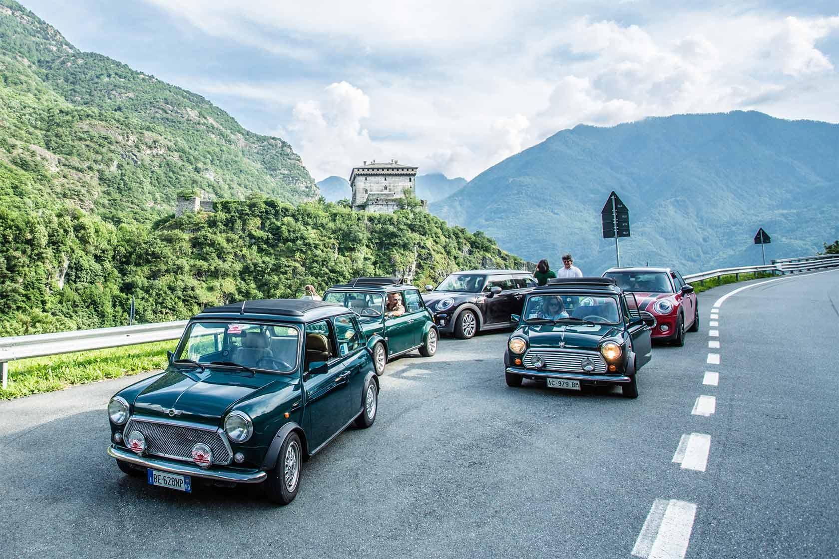 AOSTA VALLEY MINI MEETING 2019: Vieni a scoprire la Valle d'Aosta a bordo della tua MINI, classica o moderna.
